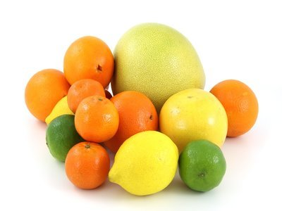Tropical citrus fruits