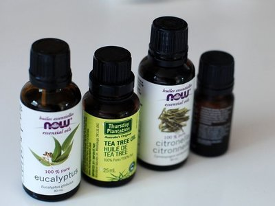 four essential oils