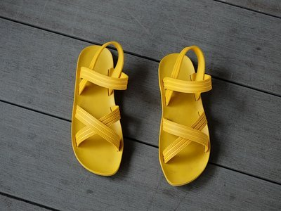 Womens yellow shoes