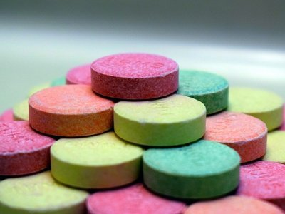 colored drugs