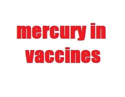 mercury in vaccines