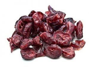 Cranberry. Dried Fruit
