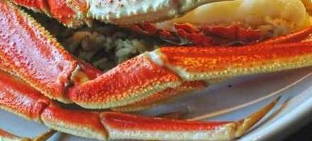 Crab legs good for cholesterol