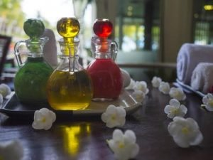 Essential oils are used in aromatherapy