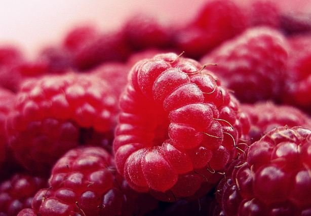 In raspberries there is molybdenum