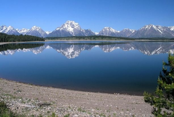 Jackson Lake Grand Teton National Park Wyoming