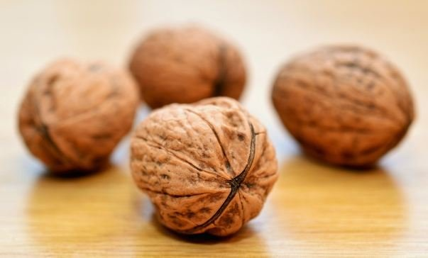 Walnuts and folic acid