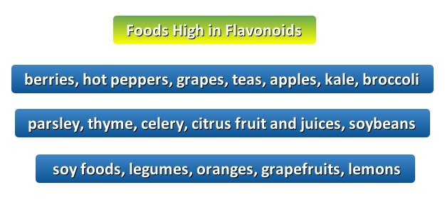 Foods High in Flavonoids