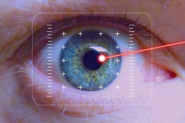 Laser eye treatment