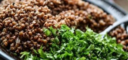 Buckwheat contains a lot of routine