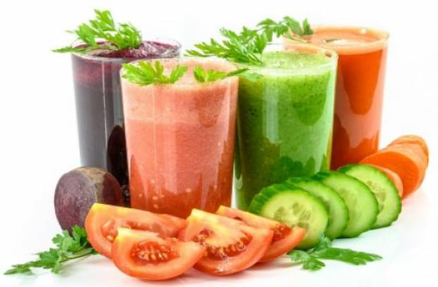 Vegetable juices and antioxidants