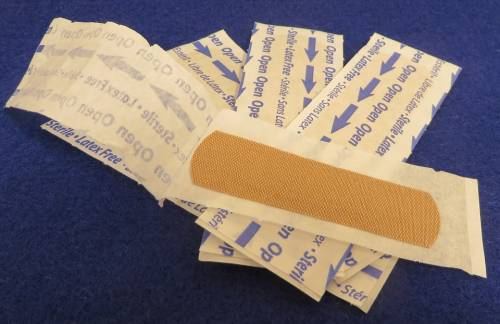 Anti-bacterial band-aid