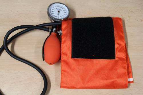 Home manual blood pressure