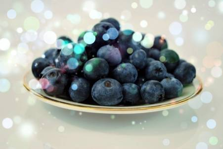 Bilberry for circulation in feet