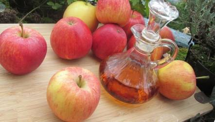 Apple cider vinegar for babies