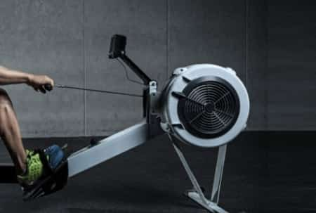Burn Calories on a Rowing Machine