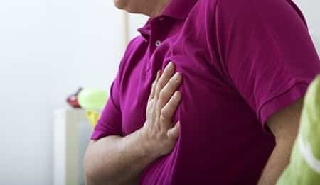 Acidity and gas causes chest pain on left side